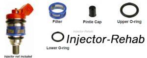 Nissan JECS Injector Rebuild Kit